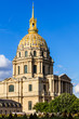 Les Invalides: Dome des Invalides (The National Residence of the Invalids). Paris, France