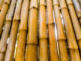 Texture of natural felling wall decorating from bamboo