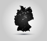 Germany silhouette grunge - 183770980