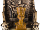 sculpture of the pharaoh,
