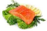 Fresh Salmon - 183793984