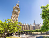 Beautiful view of Westminster Palace, London - 183796903