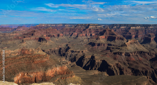 Staande foto Cappuccino The magnificent Grand Canyon seen from Mather Point