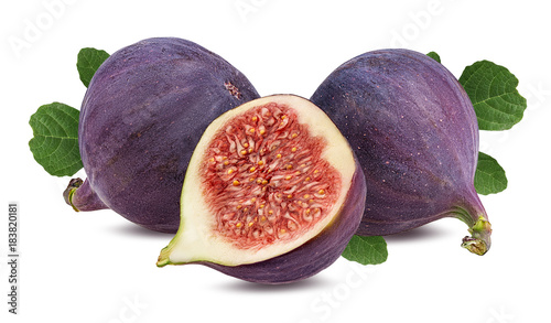 Fresh kiwi isolated on white background with clipping path