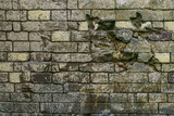 Texture of old brick wall - 183823760