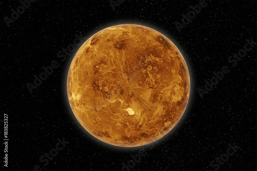 Papiers peints Nasa Planet Venus in the solar system. Elements of this image are furnished by NASA