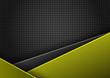 Abstract vector  yellow and black background - 183844378