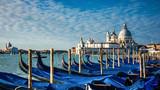 Italy. Venice. gondolas