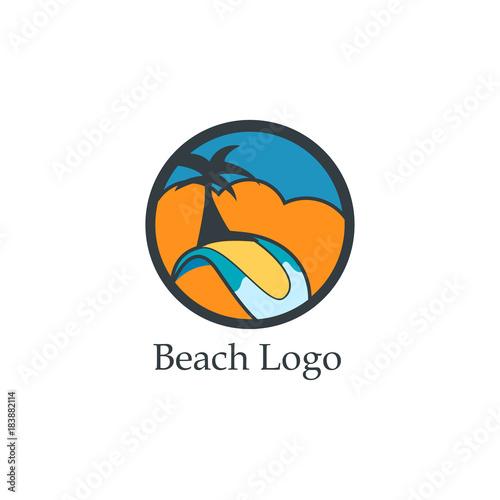 Beach Logo - 183882114
