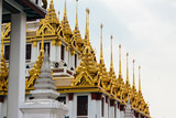 Wat Ratchanatdaram - Buddhist temple located in Phra Nakhon district, Bangkok, Thailand - 183916595