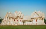 majestic palace thai buddhist in nepal. lumbini - 183923577