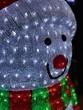 pupazzo di neve luminoso