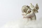 Angel sleeping on the cloud - 183947954