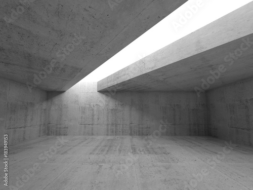 Abstract minimalism architecture background 3d
