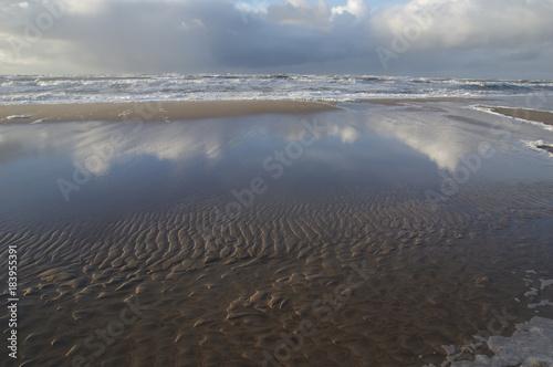 Plexiglas Noordzee Wunderschöner Strand in Jütland