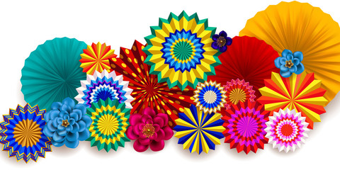 Carnival background.Design of children`s party poster 2