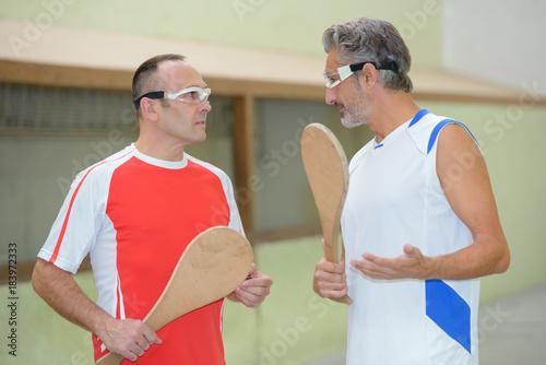 Plexiglas Fitness pala players teamtalk