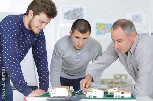 Fridge magnet making house models
