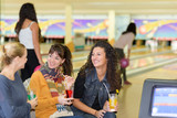 Women at bowling alley - 183977144