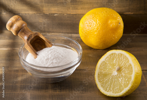 Poster Lemons and baking in the bowl