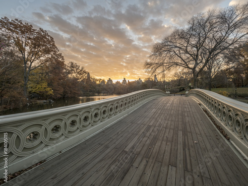 Sticker Bow bridge Central Park