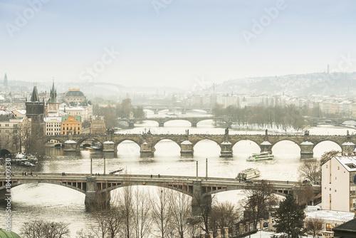 Sticker Winter in Prague
