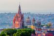 Mexico - Historic Cathedral in San Miguel de Allende