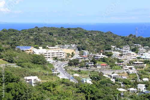 Foto op Canvas Caraïben 沖縄の絶景 街並み