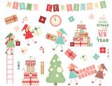 Christmas Characters - 184044344