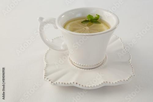 Poster Lemon tea in a cup