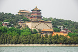 Emperor's Summer Palace, Beijing, China. View from the lake - 184056909