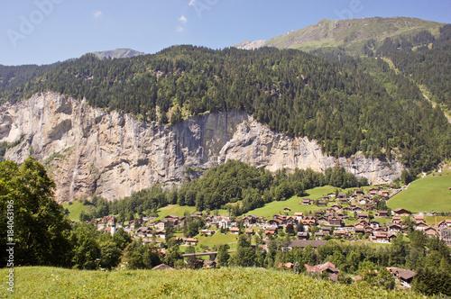 Poster Pistache Lake Luzern views