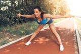 Urban Runner Girl - 184066576