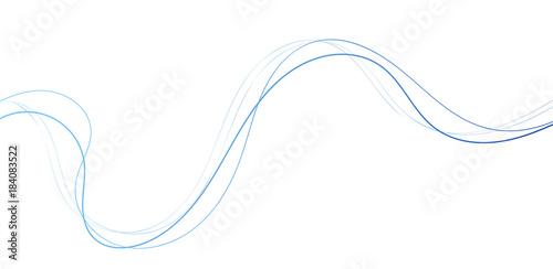 linee, linea, sfondo, vettoriale, onde