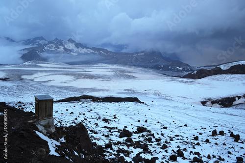 Keuken foto achterwand Blauwe hemel Elbrus