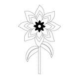flower stem  vector illustration - 184102313