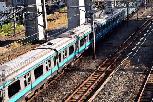 Tuinposter Spoorlijn 東十条 京浜東北線