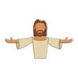 Jesus face cartoon icon vector illustration graphic design - 184113932