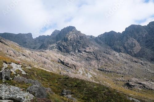 Staande foto Wit Schottland - Skye - Black Cuillins