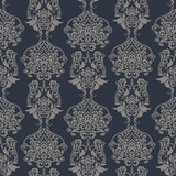 Seamless vintage vector background. Vector floral wallpaper baroque style pattern - 184128941
