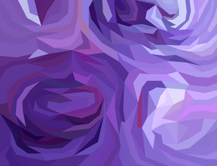 Purple coloured background,Low poly background