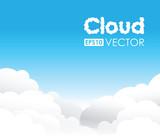 blue cloud background
