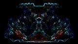 tanzender Dämon, mystischer Hintergrund - 184135351