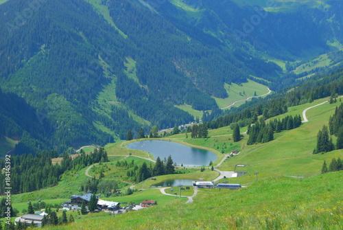 Poster Pistache Alpen Lake