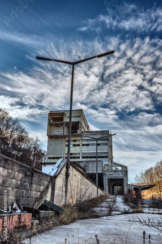 Staande foto Oude verlaten gebouwen Lost Places - Fabrikruine