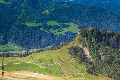 Poster Pistache Montagne