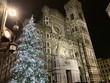 Christmas Tree lights at Duomo