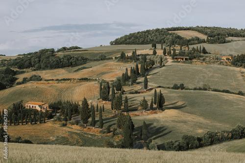 Fotobehang Toscane Beautiful tuscan landscape