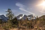 Steppe in den Alpen