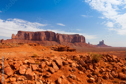 Deurstickers Arizona Monument Valley in the Navajo Tribal Park, USA
